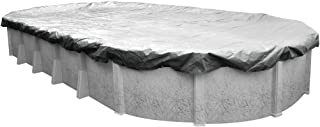 Pool Mate 551824-4 Heavy-Duty Silverado Winter Pool Cover for Oval Above Ground Swimming Pools, 18 x 24-ft. Oval Pool