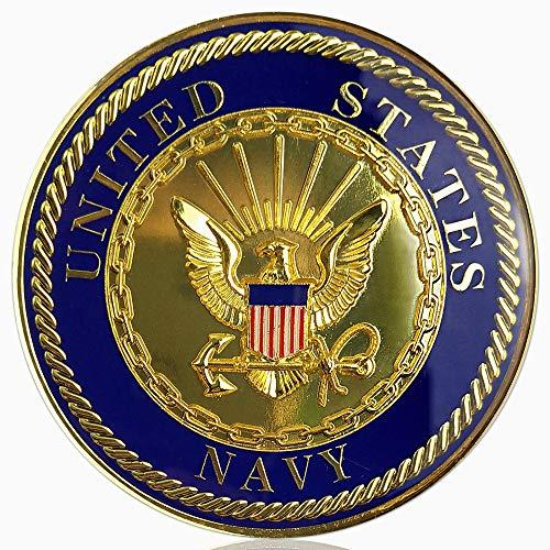 U.S. Navy Car Emblem Military Auto Decal Badge Commemorative Gifts