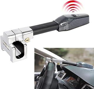 Bloqueo del Volante Alarma,Alta seguridad,Auto Antirrobo Bloqueo,Bloqueo Giratorio Ajustable Autodefensa