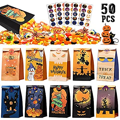 Amazon Promo Code for Treat Bags50 Pcs Halloween Candy Bags for Kids 09102021121718