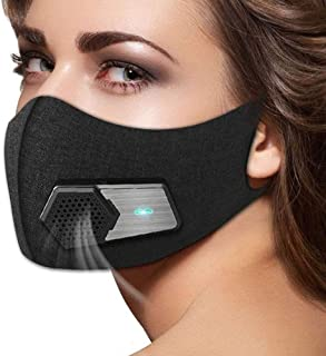 Smart Electric Face Cover Air Purifying Anti Dust Pollution Fresh Air Supply Pm2.5 with Breathing Valve Personal Health
