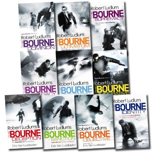 Robert Ludlum Jason Bourne Series Collection 10 Books Set