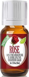 Rose Essential Oil - 100% Pure in Jojoba (30%/70% Ratio) Best Therapeutic Grade - 10ml