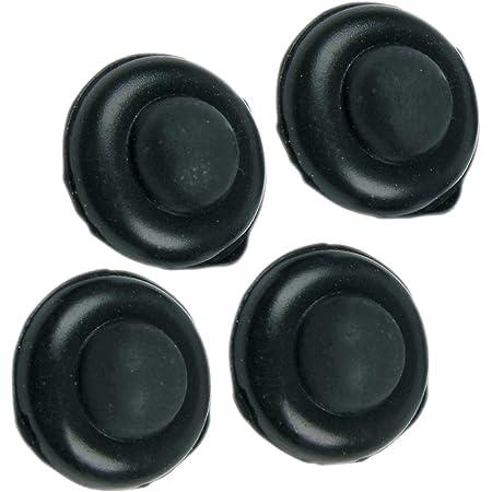 Whirlpool – Lot de 4 tampons de grille de cuisson en caoutchouc - 484000000903