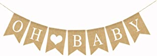 Banner with Heart Baby Shower Gender Reveal Party Decoration