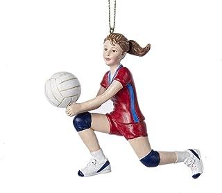 Kurt Adler Volleyball Girl Christmas Ornament