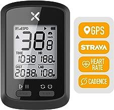 XOSS G+ GPS Cycling Computer Wireless Cadence Heart Rate Bike Speedometer Odometer Cycling Tracker Waterproof Road Bike MTB Bicycle Bluetooth ANT+