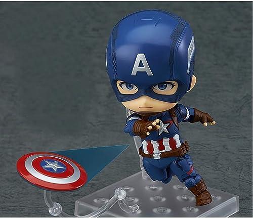 Captain America Jouet Jouet Statue Union Jouet Modèle Film Personnage Souvenir   10CM Décoration Souvenir Ztoyby