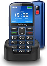 $59 » Ushining Seniors Cell Phones Unlocked SOS Button Hearing Aid Compatible 3G AT&T Senior Basic Cell Phones Large Volume 2.4 ...