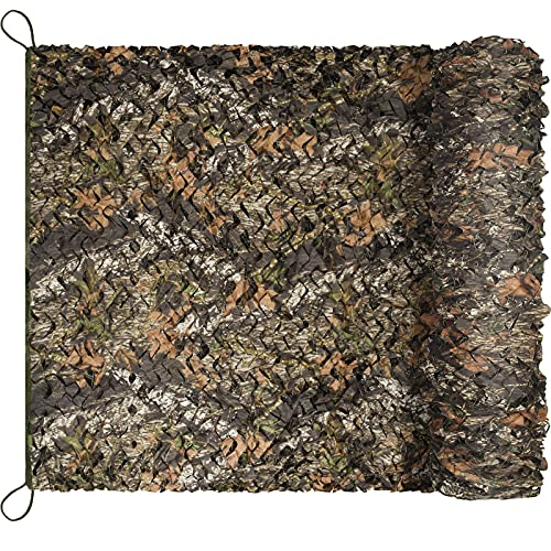 Yeacool Camo Netting, Hunting Blinds, Quiet Camouflage Netting, Camo Net Cover,Rustle-Free, Sunshade Mesh Nets, Lightweight Durable, for Hunting, Shooting, Party Decoration, Camping, Photograph