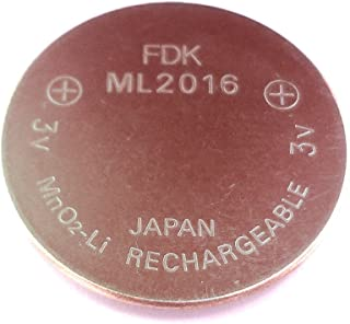 ML2016 Solar Rechargeable Capacitor Battery