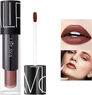 Mimore Moist Lipstick Maquillaje profesional Lápiz labial líquido impermeable Taza antiadherente Sexy Colors Lápiz labial...