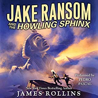 Jake Ransom and the Howling Sphinx audiobook cover art