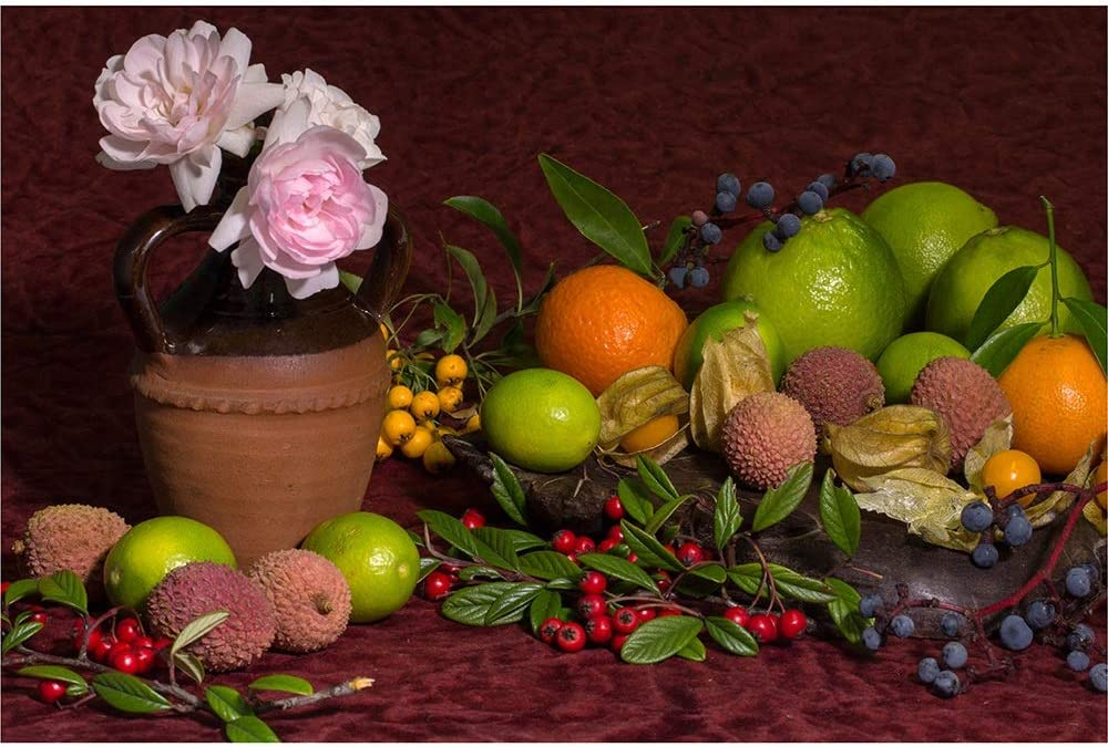 Wooden Jigsaw Puzzles - Still Life Flowers and Cheap super special price Popular standard Fruit with Famil