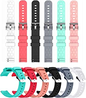E ECSEM Bands Compatible with Tinwoo T12 Band Soft Silicone Replacement Straps Accessory Colourful Wristband for Tinwoo T1...