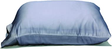 The Giant Pillowcase - Extra Large Extra Tall Pillowcases. 100% Microfiber. 2-Pack (Grey, Queen 25Wx34L) Fits Even The Fluffi