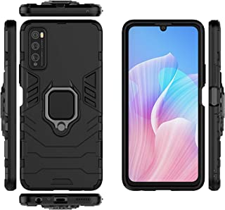 Case for Huawei Enjoy Z 5G Case Cover ,360 Degree Rotating Ring Holder Kickstand with Magnetic Car Mount Case for Huawei E...