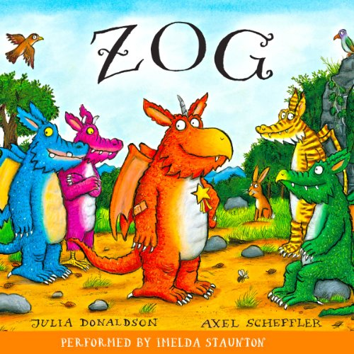 Zog audiobook cover art