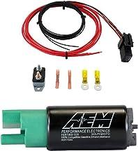 AEM 320LPH 65mm Fuel Pump Kit with 20 Amp Hardwire Kit Ethanol Compatible