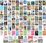 Edition Seidel Set 100 Postkarten Leben & Momente mit Sprüchen - Karten mit Spruch - Geschenk. Geburtstagskarten, Geburtstag, Liebe, Freundschaft, Leben, Motivation, lustig. (20248)