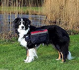 comprar comparacion Trixie Mochila para Perros, L, 28x18 cm, Negro
