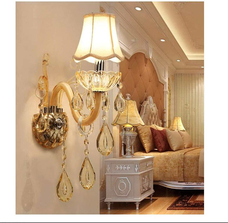 LED Luxus Hngende K9 Kristall Wandleuchten Schlafzimmer Kopfteil Nachttischlampe Wandleuchte Leuchte, 1 Licht