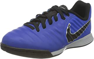 Nike AH7257-400_30, Allenatori di Calcio Indoor, Blue, EU