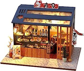 Mingbai 1//12 Scale Miniature Dollhouse Accessories Decoration Mini Oil Lamp Kids Toy,Creative Birthday Handcraft Gift,Fashion Modern Design Miniature Home Fairy Garden Multicolor Black