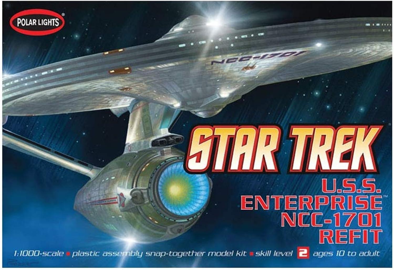 Polar Lights 1 1000 Scale USS Enterprise NCC1701A Model