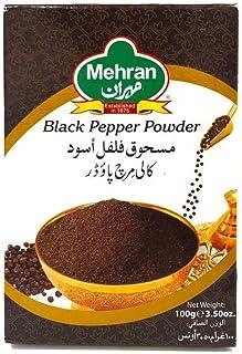 Mehran Black Pepper Powder Box, 100g - Pack of 1
