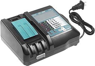 Endro マキタ DC18RF 充電器 LCD 3.5A マキタ 14.4v/18v バッテリー 用 互換品 液晶付き スマホ等充電用USB充電ポート付 BL1430 BL1830 BL1460 BL1860 BL1850 BL1840 BL...
