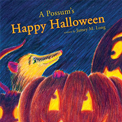 A Possum's Happy Halloween audiobook cover art