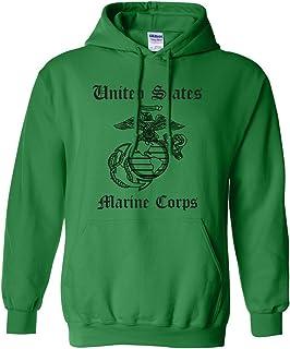 United States Marine Corps Adult Hooded Sweatshirt
