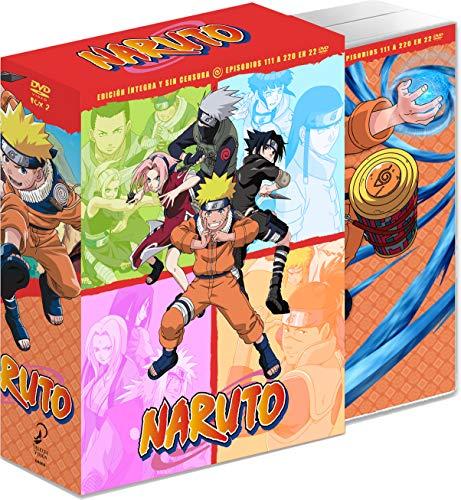 Naruto Box 2 - episodios 111 a 220 [DVD]
