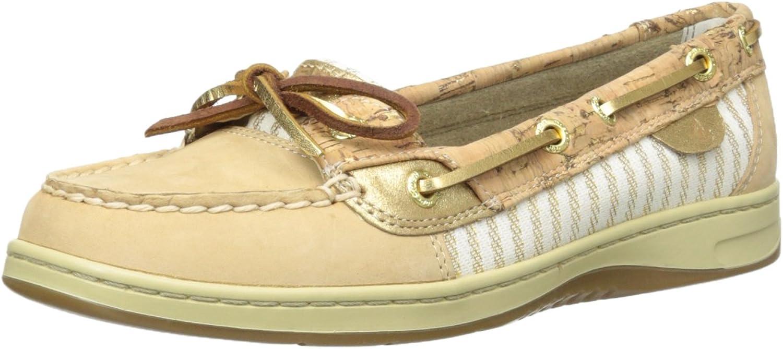 Sperry Women's Angelfish Metallic Fleck Cork Boat shoes
