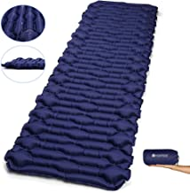 V VONTOX Camping Sleeping Pad - Mat, (Large) Ultralight Inflatable Camping Air Mattress, Suitable for Camping, Backpacking, Hiking, Outing, Mountaineering, Best Self-Help Mat, Inflatable and Compact