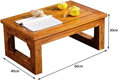 Coffee Tables Solid Wood Window Coffee Table Japanese Tea Table Tatami Small Table on The Balcony Children's Study Table