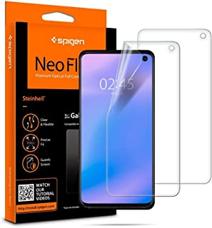 Galaxy S10, Spigen NeoFlex Screen Protector TPU Film Designed (2 Pack)