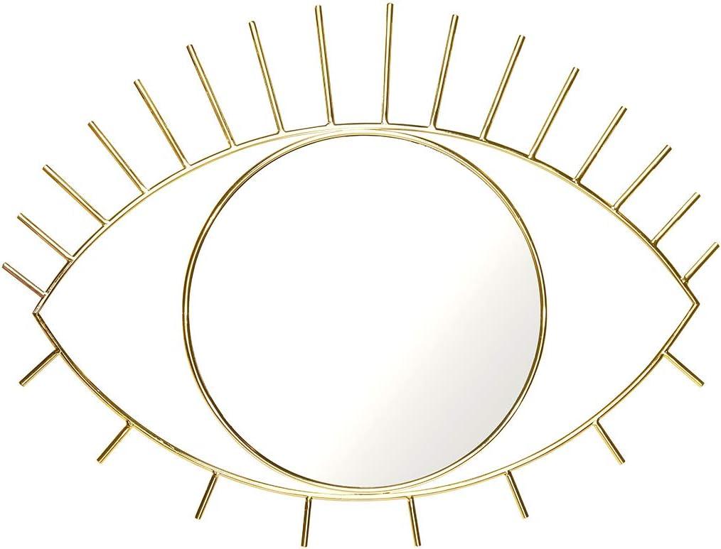 Doiy DYCYCLOLW - Caja de regalo con espejo (tamaño grande), color dorado