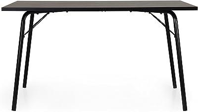 Tenzo Daxx Table à Manger en aggloméré laqué Noyer Taille Unique