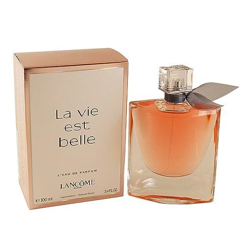 d36061480 Lancôme La Vie Est Belle L'Eau de Parfum Spray, 3.4 Ounce