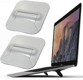 Portable Laptop Stand, Mini Computer Keyboard Riser Stand, Hidden Ergonomic Laptop Holder Stand Riser, Foldable Tablet Pad...