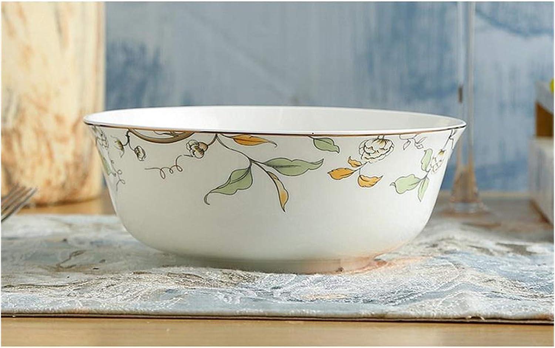rice bowl 6 inch fine bone Max 84% OFF salad ceramic clear Omaha Mall rame china