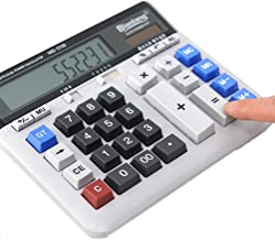 $70 » Qiupei Basic Calculator Business Office Calculator Large Computer Keyboard Desktop Desktop Computer,Multipurpose Office Calculators for Daily and Basic Office