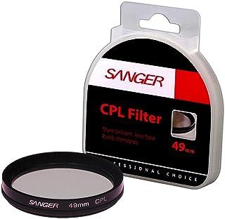 Sanger 49mm CPL Polarize Filtre