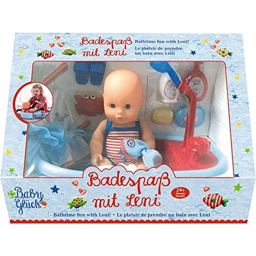 Spiegelburg 13810 Badespaß mit Leni BabyGlück (Puppe ca. 30 cm)
