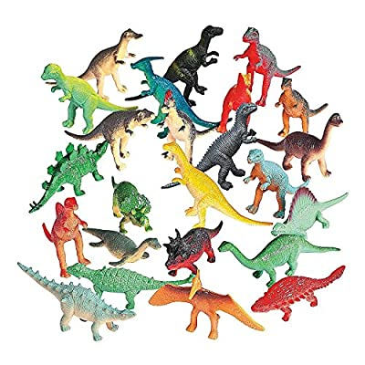 VINYL DINOSAURS (6DZ) - Toys - 72 Pieces by Fun Express