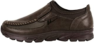 Toirt Men's Shoes Breathable Boots Non-Slip Sports Shoes Thick Bottom Casual Shoes Outdoor Work Shoes Leisure Slip-on Loafers Mens Fashion Sneakers
