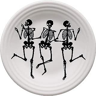 Fiesta Skeletons Luncheon Plate