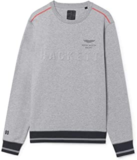 Hackett London Men's Aston Martin Racing Sweatshirt, Grey